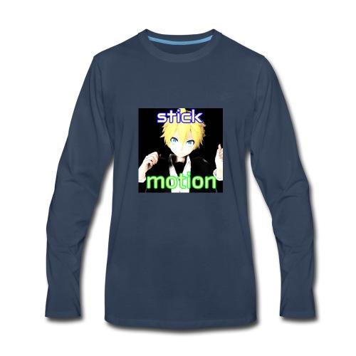 Stickmotion - Men's Premium Long Sleeve T-Shirt