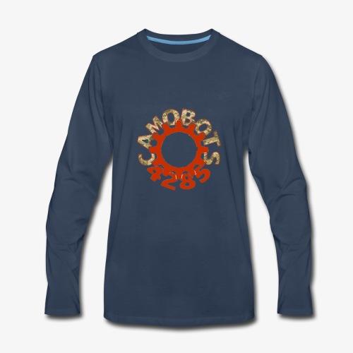 camo logo new - Men's Premium Long Sleeve T-Shirt