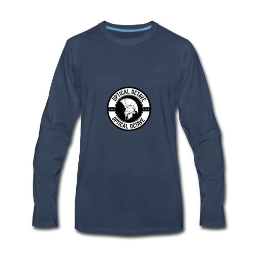Optical Octave Logo - Men's Premium Long Sleeve T-Shirt