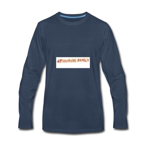 GT FAMILY LOGO - Men's Premium Long Sleeve T-Shirt