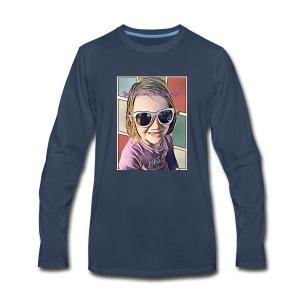 Emma GamerGirl - Men's Premium Long Sleeve T-Shirt
