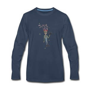 THE SMAL 101 FANART LOGO - Men's Premium Long Sleeve T-Shirt