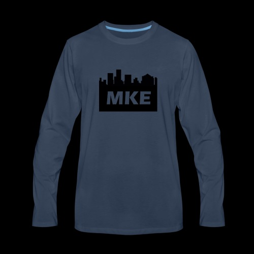 MKE - Men's Premium Long Sleeve T-Shirt