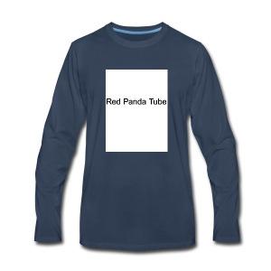 Red panda tube - Men's Premium Long Sleeve T-Shirt