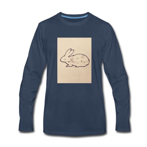Rabbit - Men's Premium Long Sleeve T-Shirt