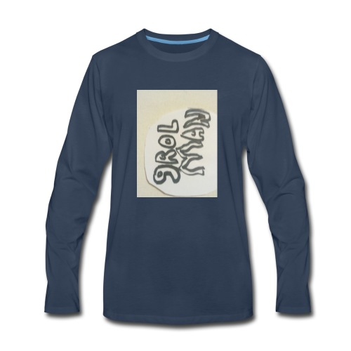 Groan origanal - Men's Premium Long Sleeve T-Shirt