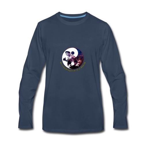 Muhammad ali, Bruce lee,In a galaxy far, far Away - Men's Premium Long Sleeve T-Shirt