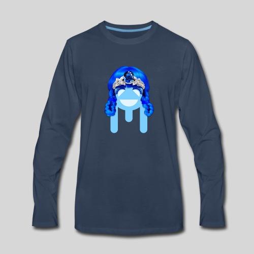 ALIENS WITH WIGS - #TeamMu - Men's Premium Long Sleeve T-Shirt