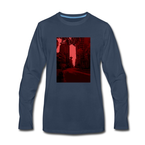Bloody Vancouver - Men's Premium Long Sleeve T-Shirt