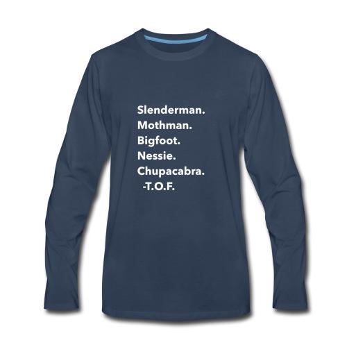 Cryptids - Men's Premium Long Sleeve T-Shirt