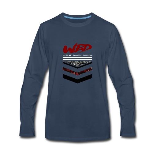 WontBackDown - Men's Premium Long Sleeve T-Shirt