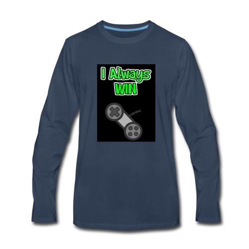 I always win - Men's Premium Long Sleeve T-Shirt