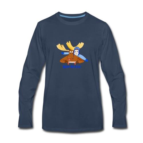 Moose Mischief - Men's Premium Long Sleeve T-Shirt