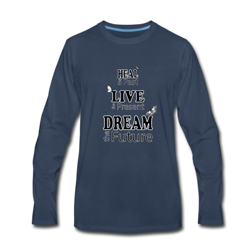 Heal the Past - Men's Premium Long Sleeve T-Shirt