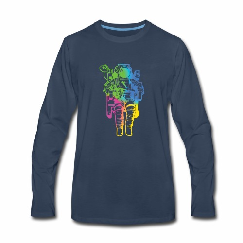 Spaceman - Men's Premium Long Sleeve T-Shirt
