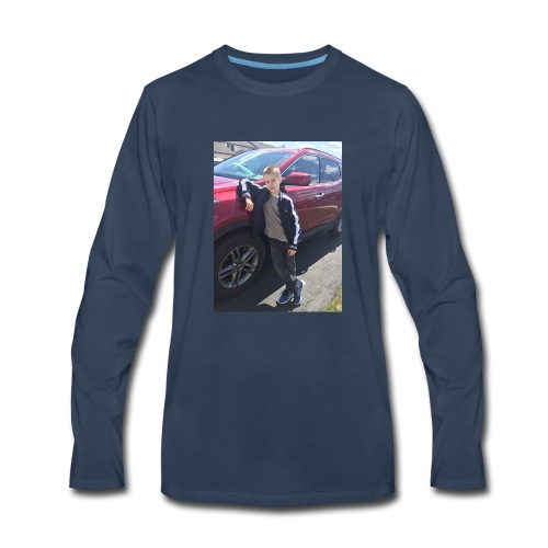The cool side of me! - Men's Premium Long Sleeve T-Shirt