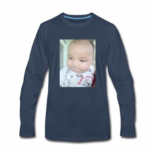 The angel - Men's Premium Long Sleeve T-Shirt