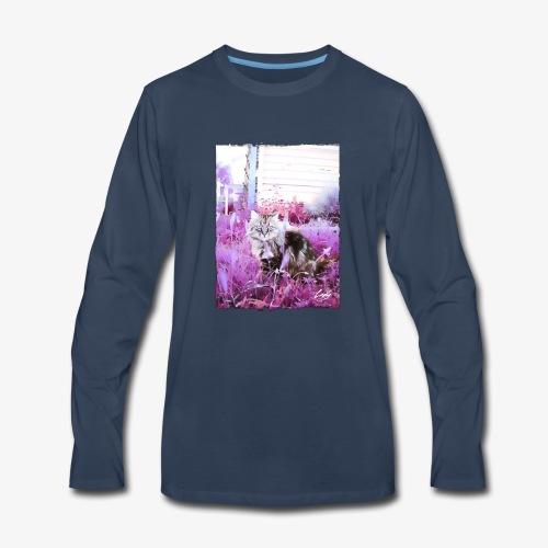 Lady cat - Men's Premium Long Sleeve T-Shirt