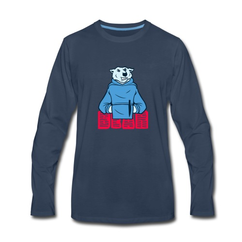bear t shirt - Men's Premium Long Sleeve T-Shirt