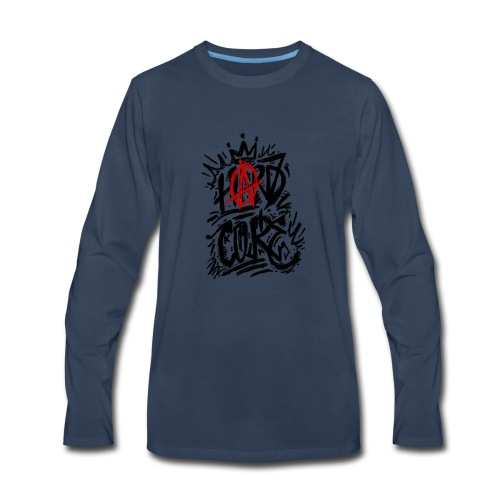 hard core1 - Men's Premium Long Sleeve T-Shirt