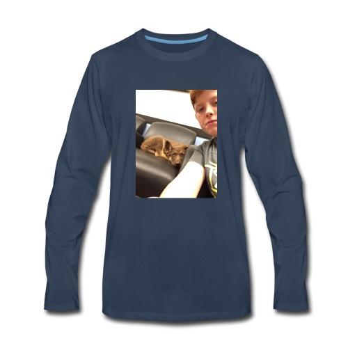 Kimber the puppy - Men's Premium Long Sleeve T-Shirt