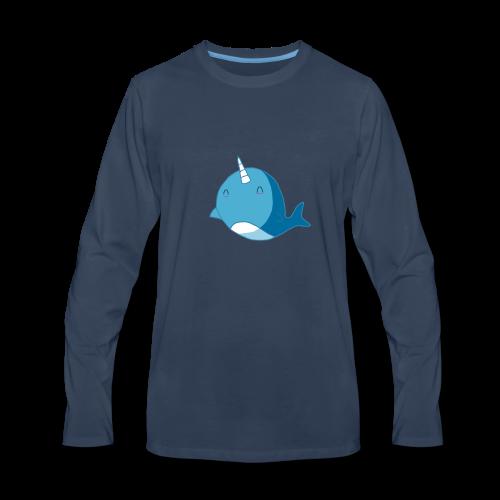 The Diamond Narwhal - Men's Premium Long Sleeve T-Shirt