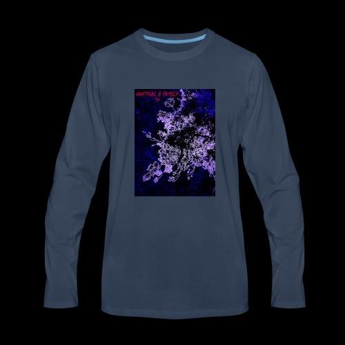GOATYGAL & FAMILY TV - Men's Premium Long Sleeve T-Shirt