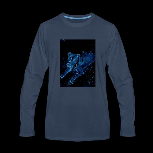 COSMIC PUP - Men's Premium Long Sleeve T-Shirt