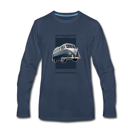 TWENTYTHREE WINDOW - Men's Premium Long Sleeve T-Shirt