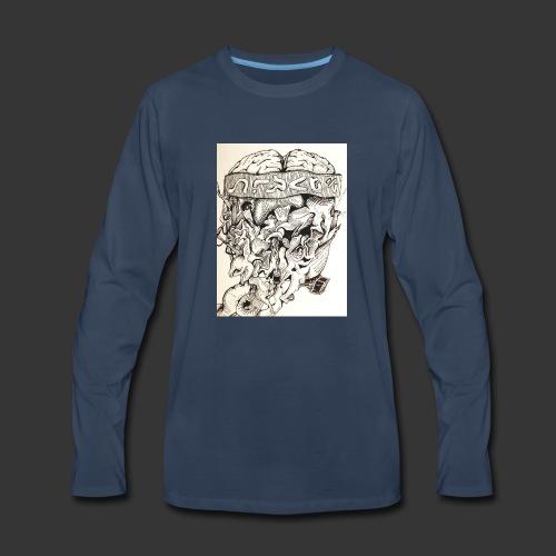 Brain Malfunction - Men's Premium Long Sleeve T-Shirt