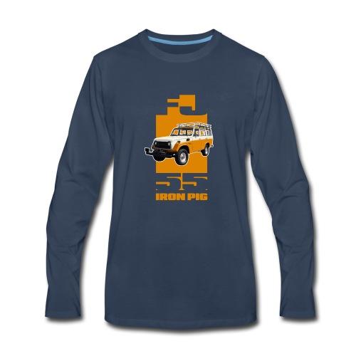 YELLOW FJ55 IRON PIG - Men's Premium Long Sleeve T-Shirt