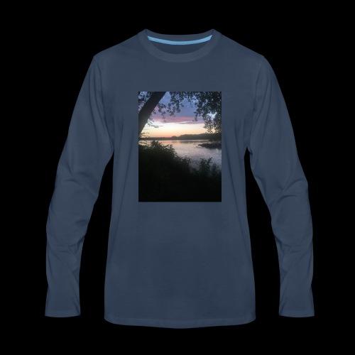 Lake - Men's Premium Long Sleeve T-Shirt