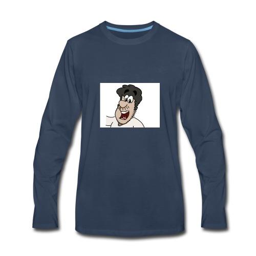 crunchy mumkey - Men's Premium Long Sleeve T-Shirt