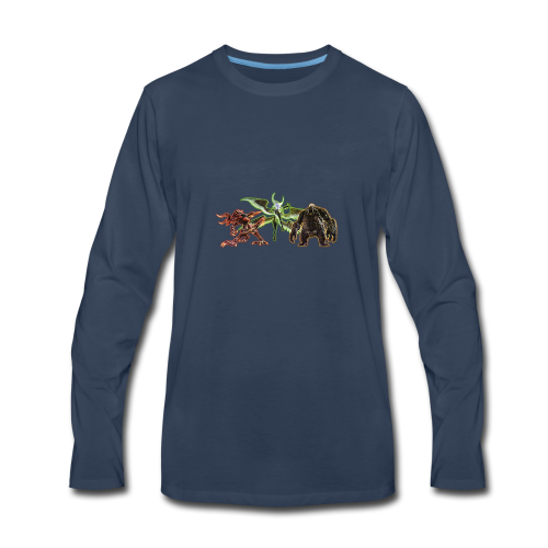 FFXIV Primals - Men's Premium Long Sleeve T-Shirt