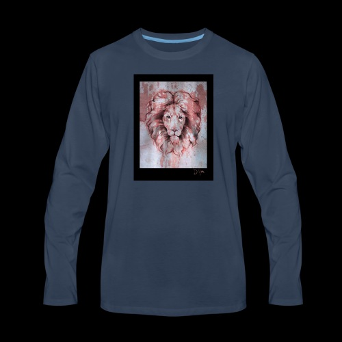 Esoteric Designs ~ Lion - Men's Premium Long Sleeve T-Shirt