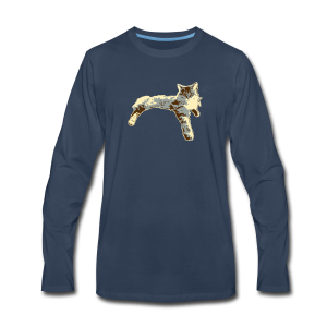 Sassy Cat - Men's Premium Long Sleeve T-Shirt
