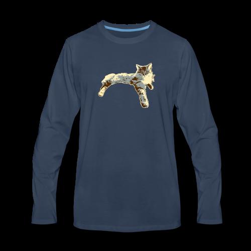 Sassy Cat - Men's Premium Long Sleeve T-Shirt