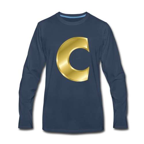 C - Men's Premium Long Sleeve T-Shirt