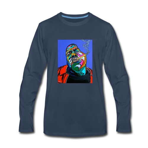 Notorious-B-I-G set 1 - Men's Premium Long Sleeve T-Shirt