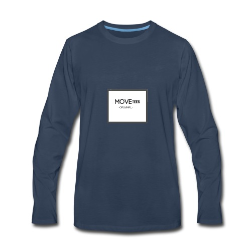 MOVETees -original- - Men's Premium Long Sleeve T-Shirt