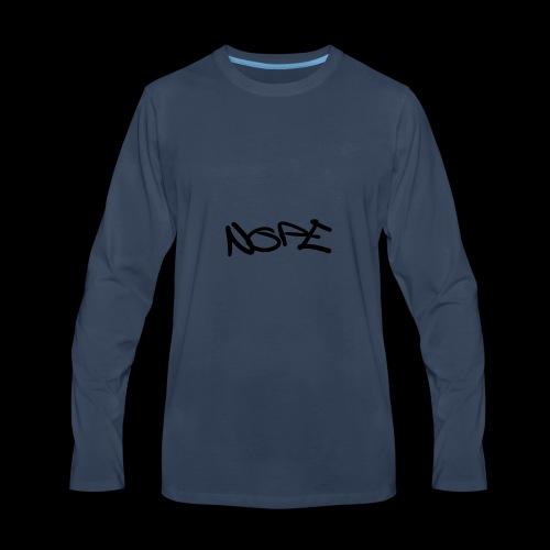 Nope - Men's Premium Long Sleeve T-Shirt