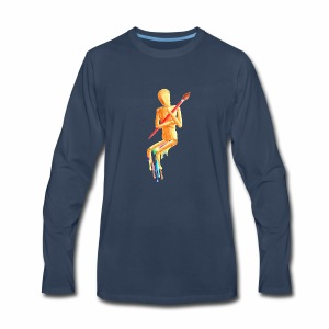 Melting Artist Without Fire - Men's Premium Long Sleeve T-Shirt