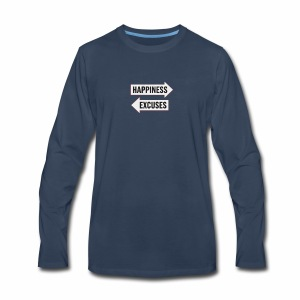 a simple choice - Men's Premium Long Sleeve T-Shirt
