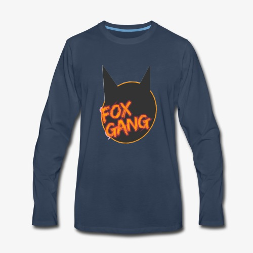 The fox gang official - Men's Premium Long Sleeve T-Shirt