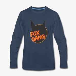 The fox gang official - Men's Premium Long Sleeve T-Shirt