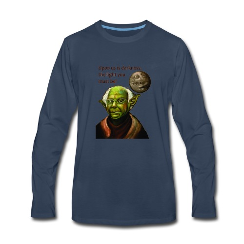 Yoda Bernie - Men's Premium Long Sleeve T-Shirt