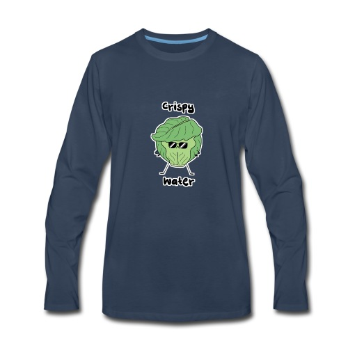 Crispy Water - Men's Premium Long Sleeve T-Shirt