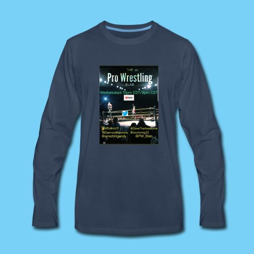 PW_Blab Show grapic - Men's Premium Long Sleeve T-Shirt