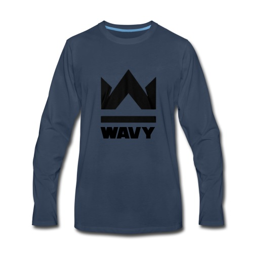 Too Wavy - Men's Premium Long Sleeve T-Shirt