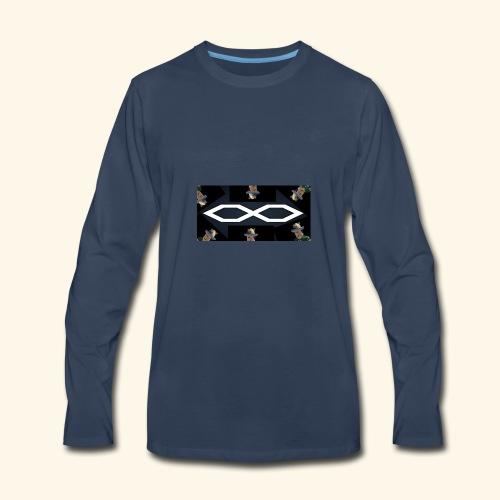 oh wow - Men's Premium Long Sleeve T-Shirt